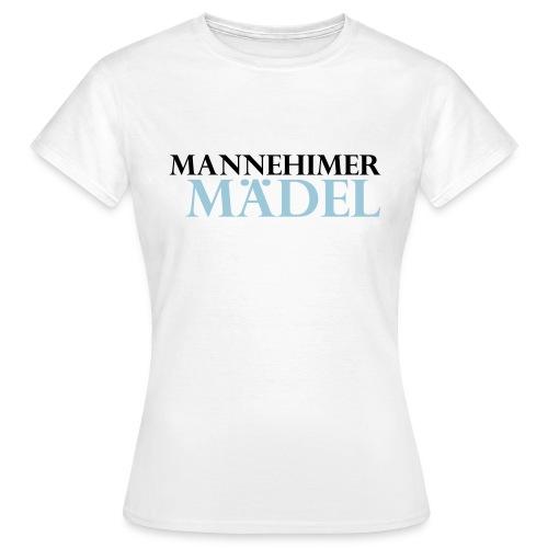 mannheimer maedel - Frauen T-Shirt