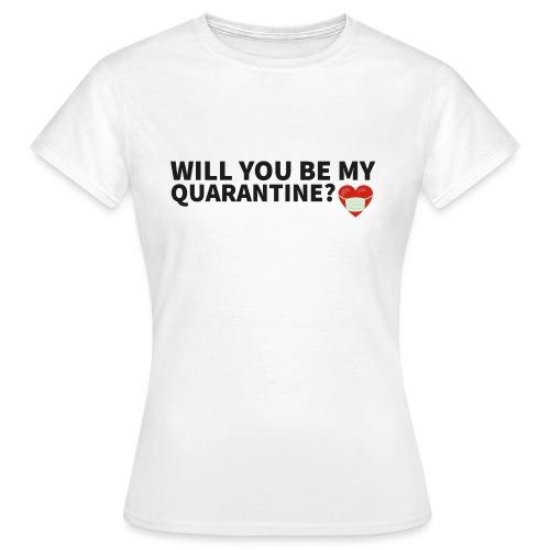 Schriftzug mit Motiv - Frauen T-Shirt
