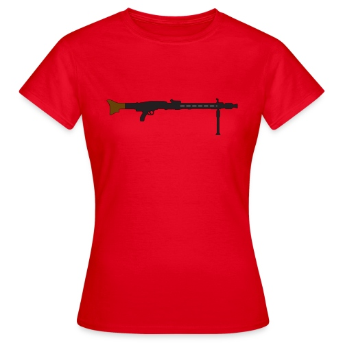 Mg42 Mg3 german gun - Women's T-Shirt