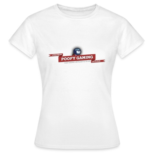 Poofy Gaming - Full Text - Vrouwen T-shirt