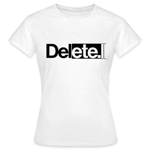 deleteblack png - Women's T-Shirt