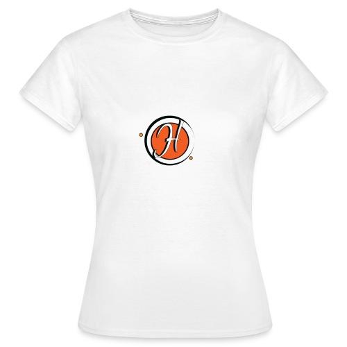 que le logo h orange - T-shirt Femme
