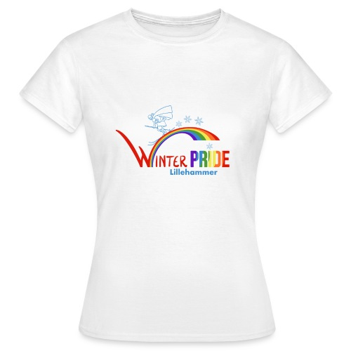 Winterpride - T-skjorte for kvinner