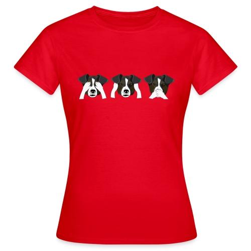 Hunde - Dame-T-shirt