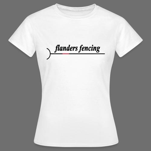 Flanders Fencing - Vrouwen T-shirt