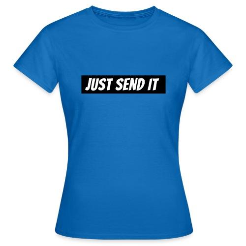 just send it logo - Women's T-Shirt