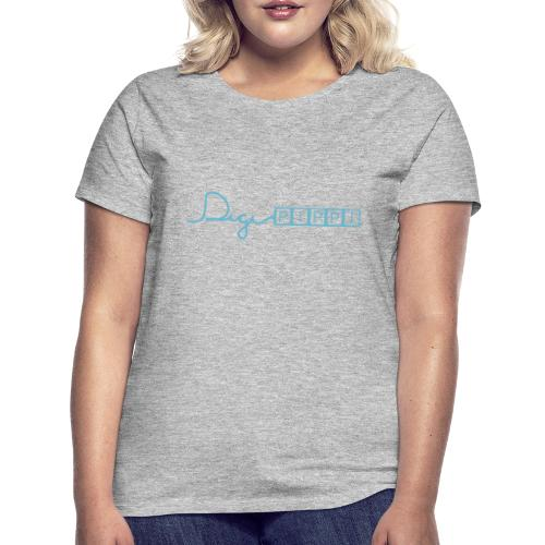 DP Logo Blue - Dame-T-shirt