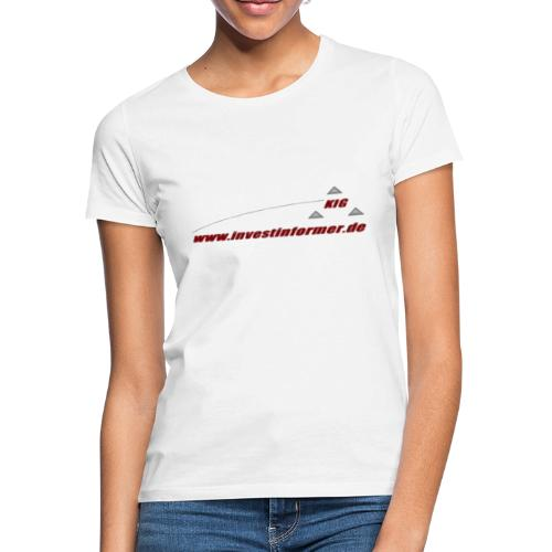 investinformer - transparent - Frauen T-Shirt