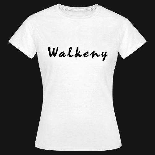 Walkeny Schriftzug - Frauen T-Shirt