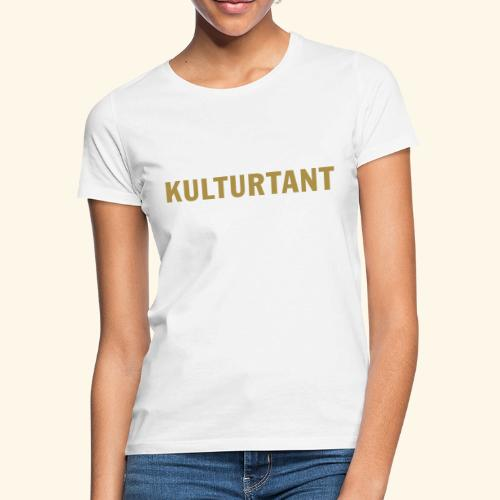 Kulturtant - T-shirt dam