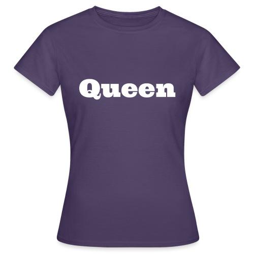 Snapback queen zwart/rood - Vrouwen T-shirt
