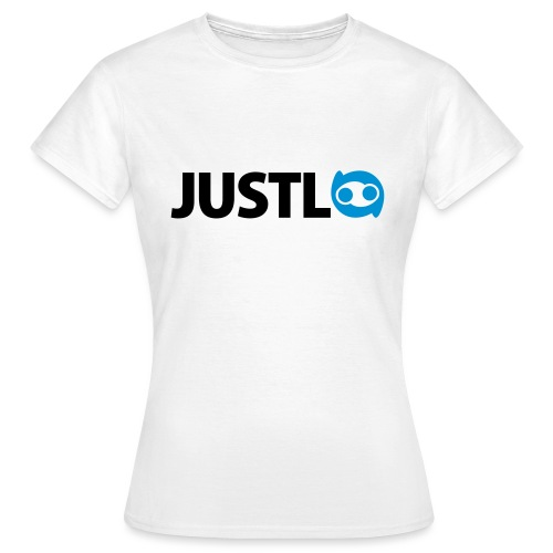 Justlo Logo - Frauen T-Shirt
