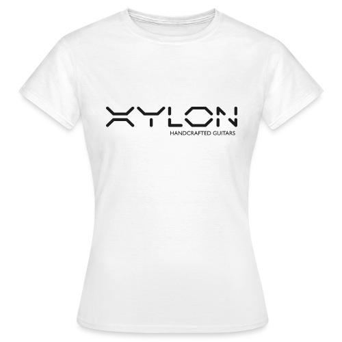Xylon Handcrafted Guitars (plain logo in black) - Women's T-Shirt