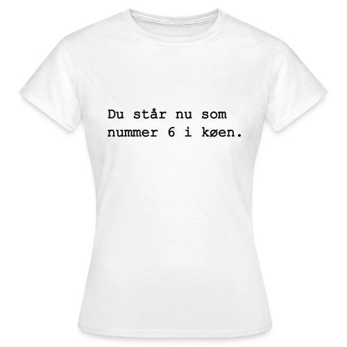 du star - Dame-T-shirt