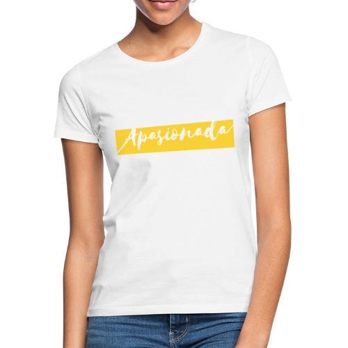Colorful Amarillo- apasionada - Camiseta mujer