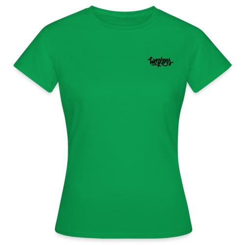 logo_noir Workers - T-shirt Femme