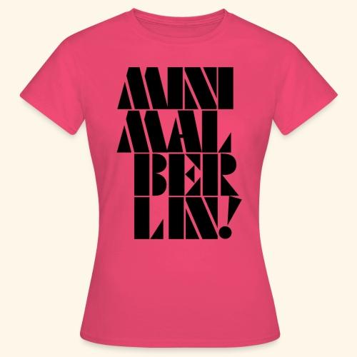 Minimal Berlin - Frauen T-Shirt