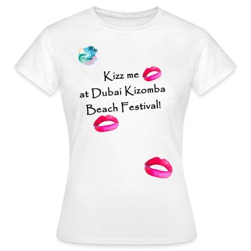 Perfect lips design black text variation 3 - Women's T-Shirt