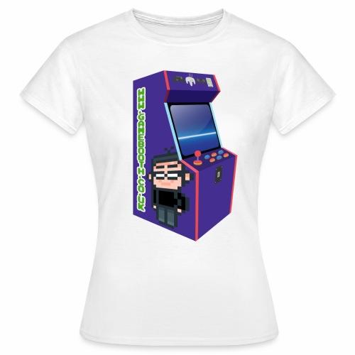 Game Booth Arcade Logo - Women's T-Shirt