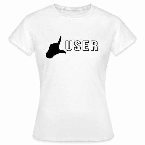 lusershirtlogo2 png - Frauen T-Shirt