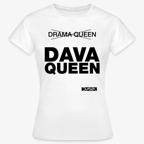 DAVA Queen - black - Women's T-Shirt