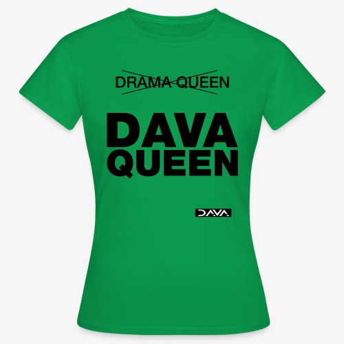 DAVA Queen - black - Women's T-Shirt
