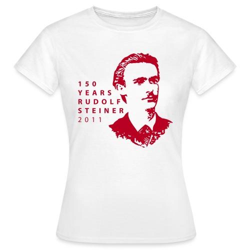 150 Years Rudolf Steiner 2011 - Frauen T-Shirt