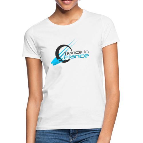 Trance In France White - Large Logo - T-shirt Femme