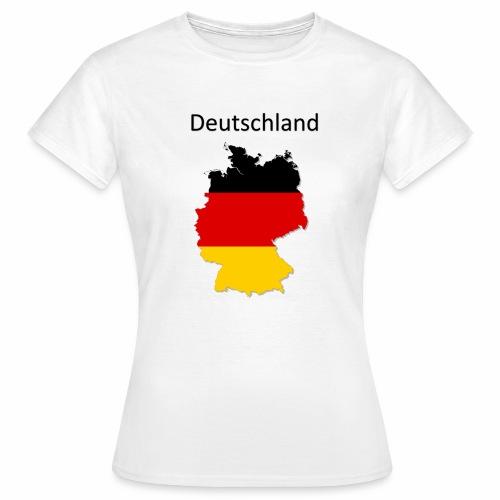 Deutschland Karte - Frauen T-Shirt