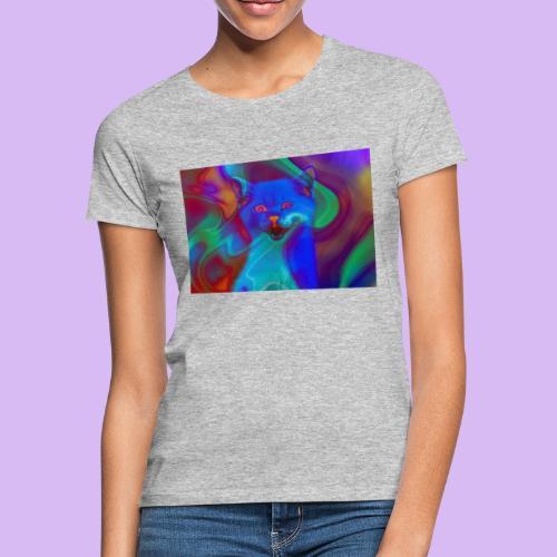 Gattino con effetti neon surreali - Maglietta da donna