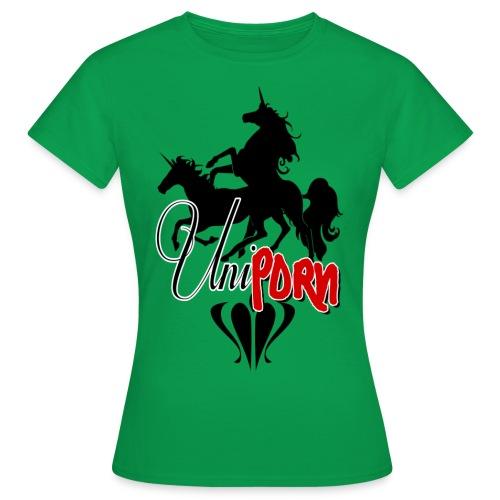 Uniporn - Frauen T-Shirt
