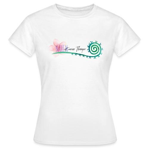 Nähen ist meine Therapie - Frauen T-Shirt