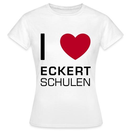 I love Eckert Schulen - Frauen T-Shirt