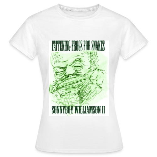 fattening frogs for snakes - Women's T-Shirt