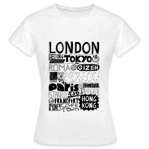 Villes du monde - T-shirt Femme