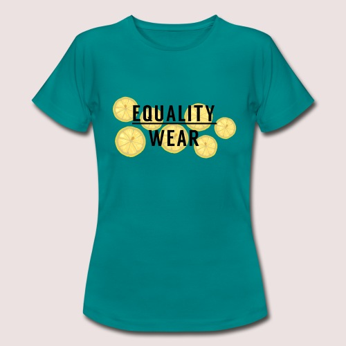 Equality Wear Fresh Lemon Edition - Women's T-Shirt