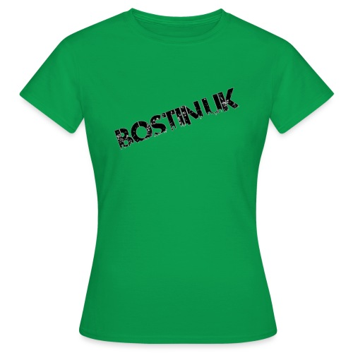 Bostin uk white - Women's T-Shirt