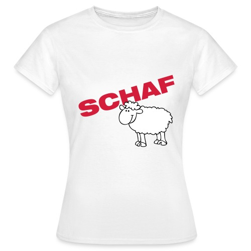 schaf - Frauen T-Shirt