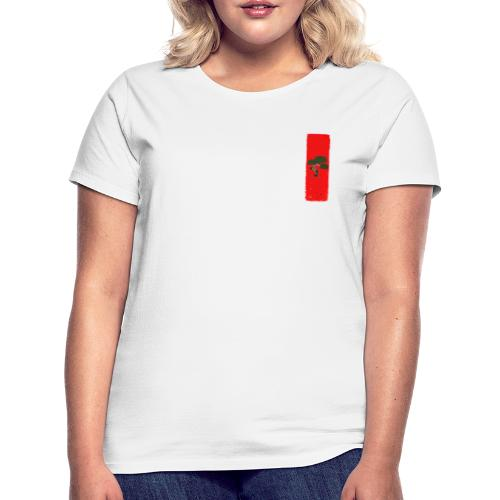 bonsai red scene - Frauen T-Shirt