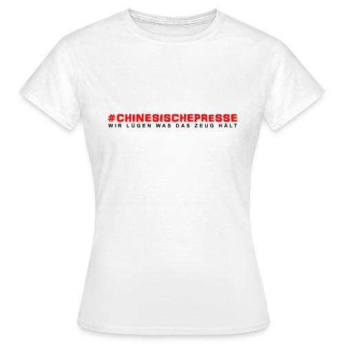 TSHIRT Presse png - Frauen T-Shirt