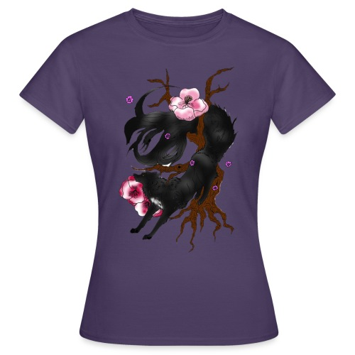 Black Wolf Spring - Frauen T-Shirt