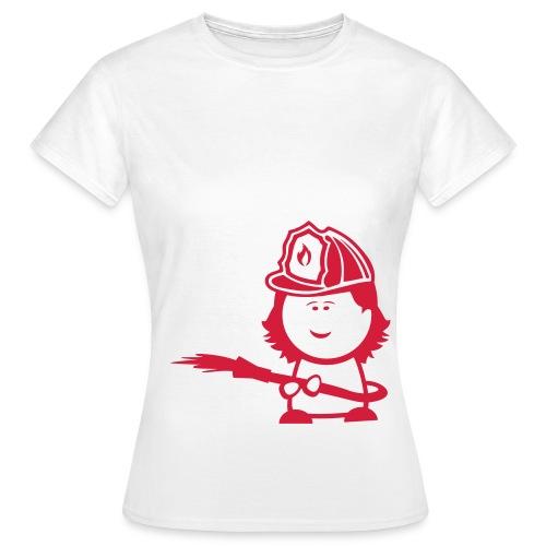 Fire Girl - Frauen T-Shirt