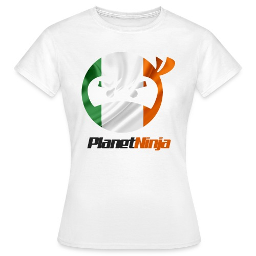 Irish Planet Ninja - Women's T-Shirt