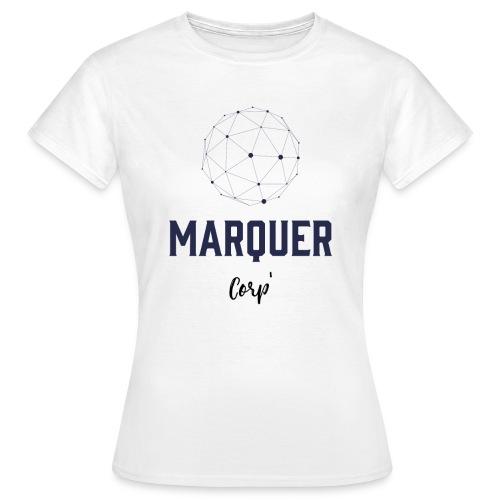 Marquer Corp - T-shirt Femme