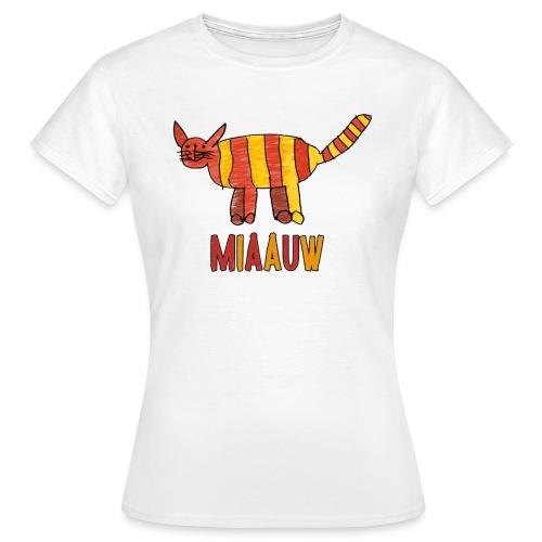 miaauw poesje - Vrouwen T-shirt