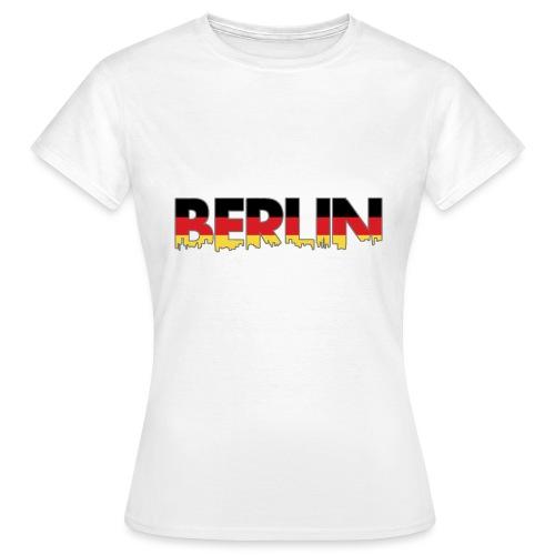 Berlin Typografie - Frauen T-Shirt