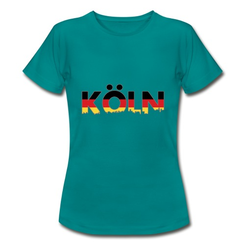 Köln Typografie - Frauen T-Shirt