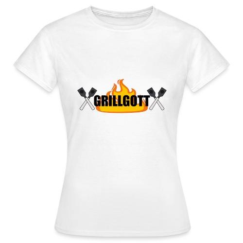 Grillgott Meister des Grillens - Frauen T-Shirt
