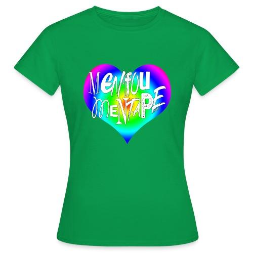 MENFOUMENTAPE Arc en ciel by Alice Kara - T-shirt Femme