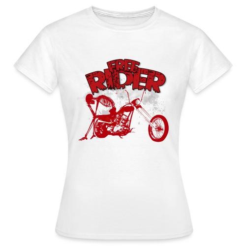 FREE RIDER - Camiseta mujer